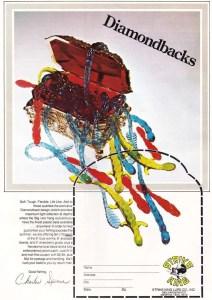 Another Strike King Bill Dance Diamondback worm ad from 1977.