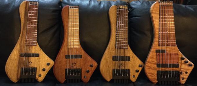 いろいろなミニサイズの多弦ベース「Wing Bass」