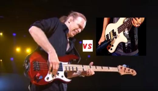 【動画あり】「ビリー・シーンの速弾き」と「電動ドリル奏法」はどちらが速いのか?