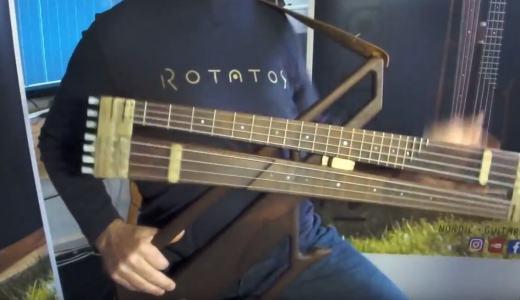 たったの3秒!一瞬でフレットレス仕様に切り替えできるベース「Rotator」