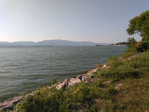 琵琶湖の下物エリア