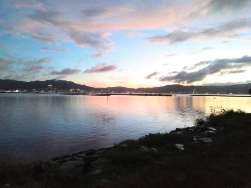 琵琶湖の北山田エリア(漁港南側)