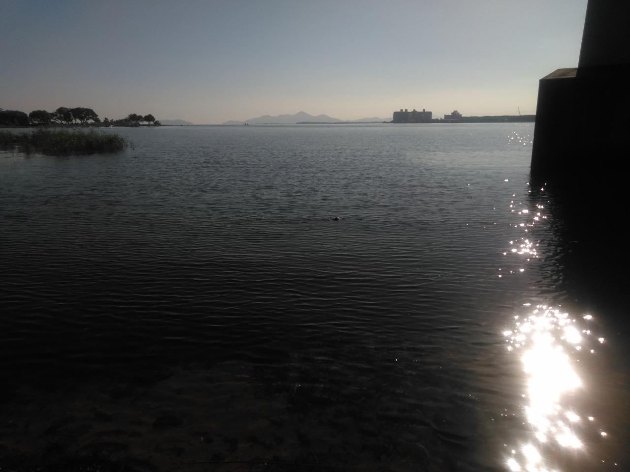 琵琶湖大橋西詰