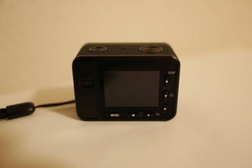 ソニーのデジカメDSC-RX0、背面