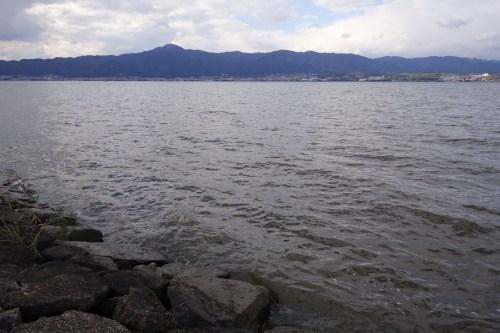 琵琶湖の志那エリア