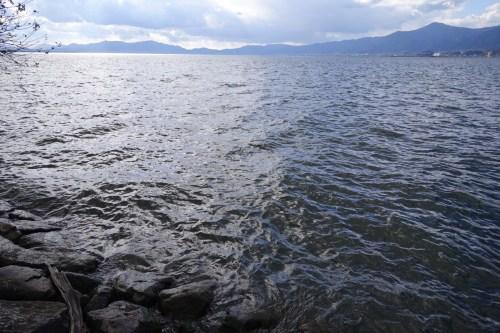 20181217 琵琶湖の木浜エリア