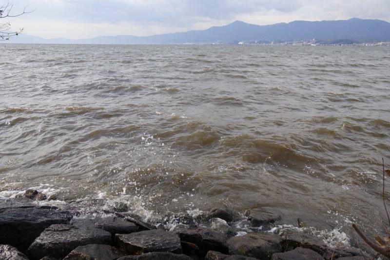 20181219 琵琶湖の木浜エリア