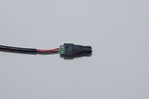 電源コードと変換プラグを接続