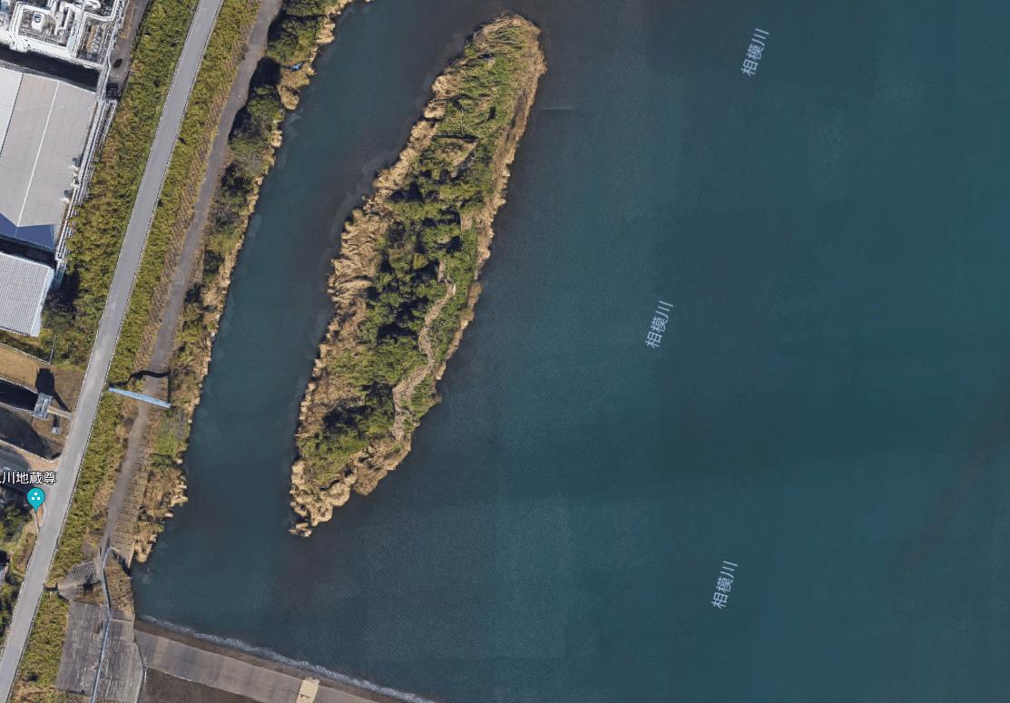 【ポイントマップ】相模川 下流域でのバス釣りオカッパリマップとおススメルアー