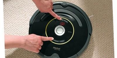 Roomba iRobot…tutto parte dal tasto CLEAN!