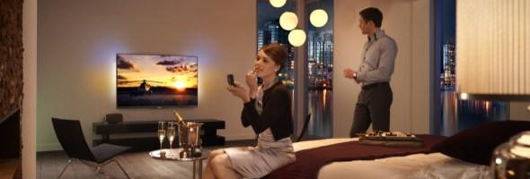 TP Vision rinnova ed estende la gamma di TV per il settore alberghiero