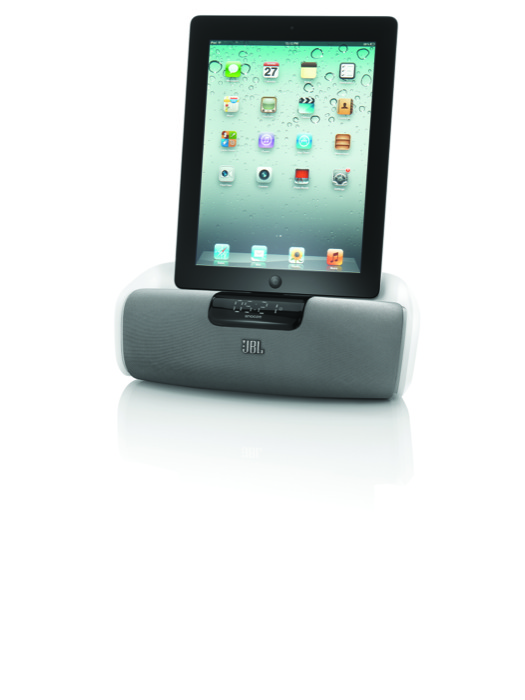 Arriva JBL OnBeat aWake, lo speaker dock da camera che trasforma il proprio iPad in una sveglia super tecnologica