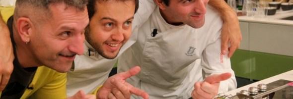 Un grande chef e un grande musicista a confronto, nella prima web tv che si mangia e si ascolta