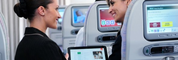 HP ElitePad prende il volo con Emirates Airlines