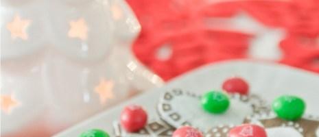 Idee decoro per la casa e la tavola con le M&M's natalizie e con i Christmas Cookies!