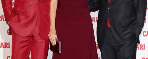 Penelope Cruz hits the Red Carpet to celebrate launch of Campari Calendar 2013