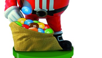 Feste di fine anno all'insegna del colore e del divertimento con la Limited Edition e il Dispenser natalizi firmati M&M's!
