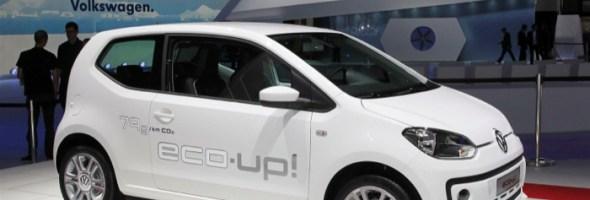 La Volkswagen eco up! City car con motorizzazione a metano