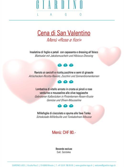 San Valentino a Il Giardino Lago di Minusio, perfetto per un week-end romantico