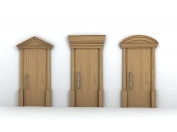 Le porte realizzate da GP PROGROUP a firma di Luca Scacchetti visibili al Macef