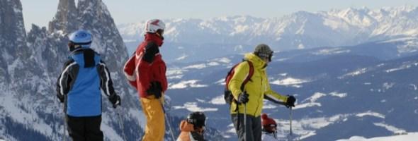 Un maestro di sci per tutta la famiglia all'Hotel Emmy – Dolomites Family Resort all'Alpe di Siusi nelle Dolomiti