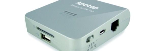 Wi Reader Pro di Apotop: un gadget da avere sempre a portata di mano per trasferire dati da USB o memoria SD sui dispositivi Apple tramite rete Wi-Fi