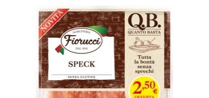 Nasce Q.B. QUANTO BASTA la nuova linea di salumi affettati Fiorucci pronti da gustare, senza sprechi!
