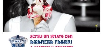 """Con un gelato regali un sorriso. Un BUON motivo per mangiare un BUON gelato, dal 3 al 9 giugno torna la """"Settimana del Gelato per ANT"""" con Amarena Fabbri"""