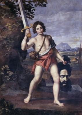 Domenichino,Davide con la testa di Golia