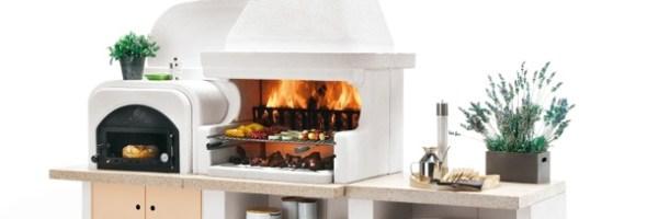 """Voglia di vivere e cucinare all'aria aperta con i barbecue Palazzetti. Nel paese natale di grandi chef e della cucina mediterranea, non poteva mancare una proposta concreta """"Made in Italy"""" anche per la cottura alla brace"""