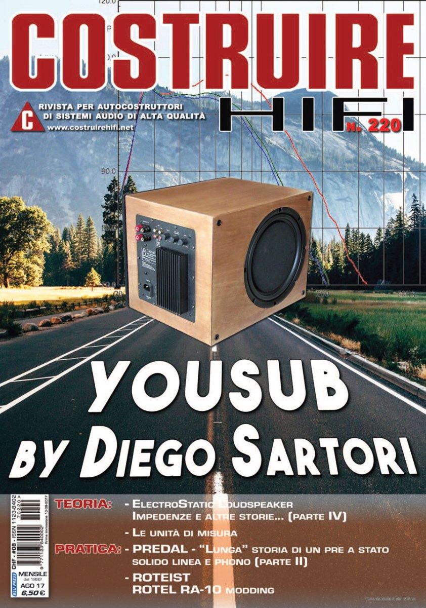 COSTRUIRE HIFI n. 220 - Agosto 2017