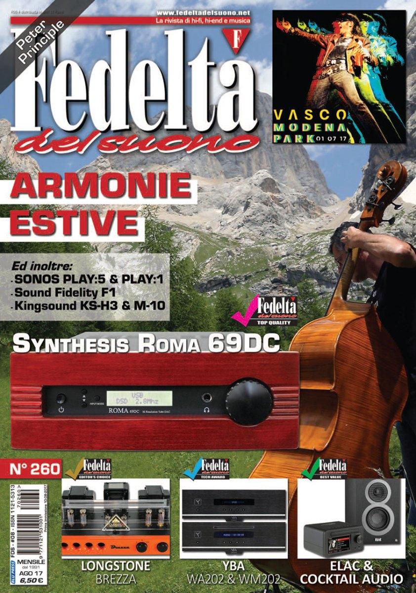 FEDELTÀ DEL SUONO n. 260 - Agosto 2017