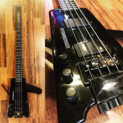 Steinberger XL2 gaucher.