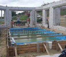 Строительство, установка, монтаж бассейнаполипропиленового фотография № 12.