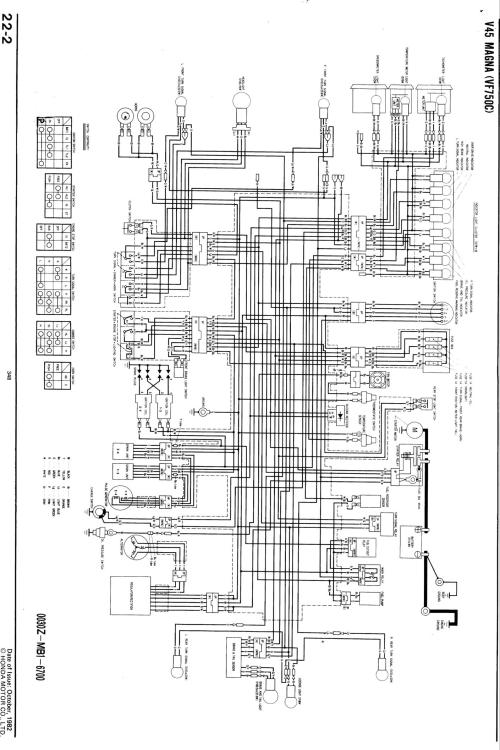 small resolution of vt500 wiring diagram