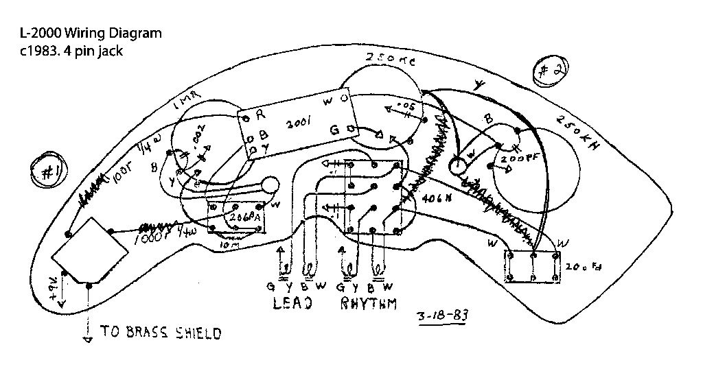 Early 1980s L-2000 Circuits
