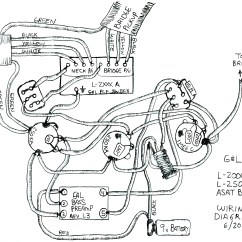 Bass Pickup Wiring Diagrams Bryant Electric Furnace Diagram G Andl And Schematics