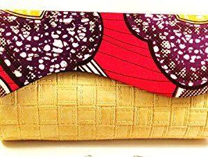 Women Ankara African Print Purse/Earring Set