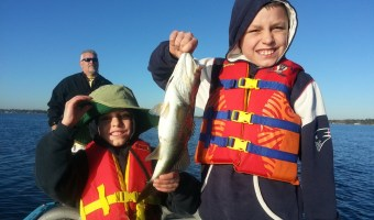 Father and Sons Fun Family Fishing Trip