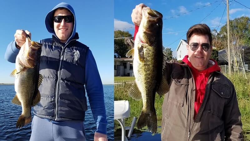 Cold In Central Florida But the Bass Don't Seem To Mind