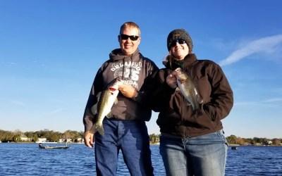 Big Numbers while Lake Conway Bass Fishing in Orlando Florida