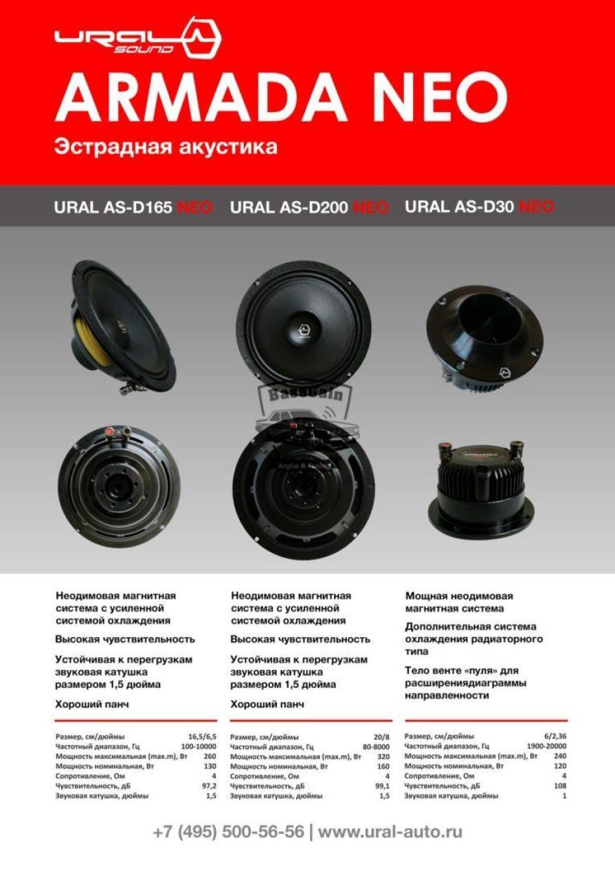 Новинка: Ural ARMADA NEO