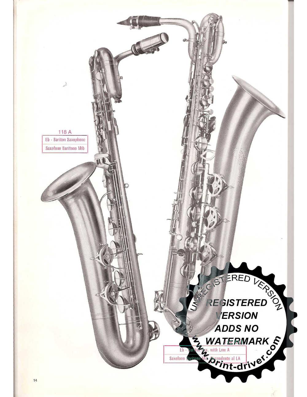 Serial numbers saxophone orsi La Monte