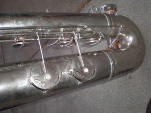 Martelle bass saxophone