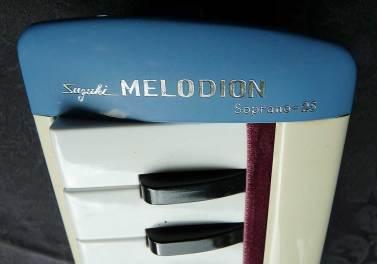 Suzuki Melodion, vintage, Japanese melocia,