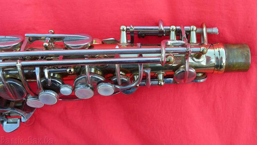 saxophone keys, mother of pearl key touches, dent near post,  how to buy a used saxophone