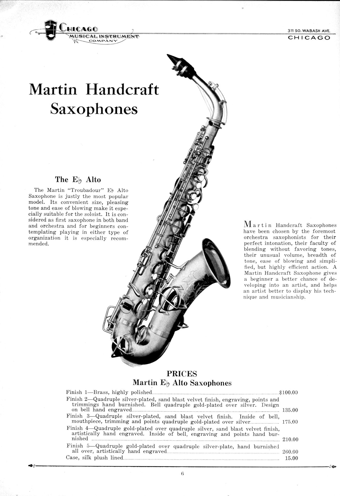 The Chicago Musical Instrument Co  | The Bassic Sax Blog