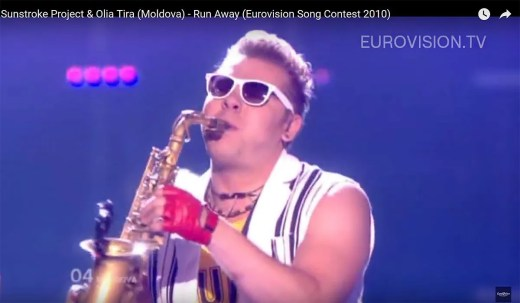 Epic Sax Guy, Sunstroke Project, Eurovision 2010