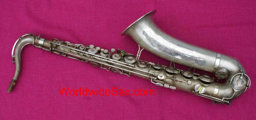 Olds Super tenor sax, silver plated saxophone, Olds Super, tenor saxophone, vintage sax, unrestored sax,