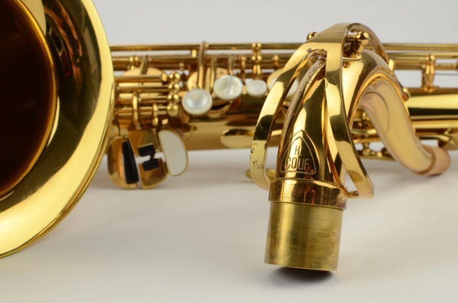 Herb Couf, H. Couf tenor sax, vintage sax, sax neck, German sax,